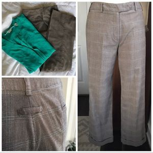 High waisted Cuffed work pants larry Levine 4P